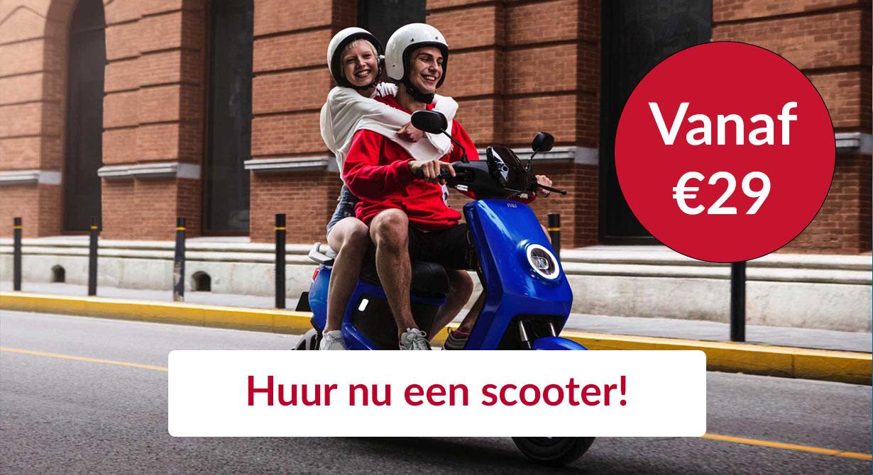 Huur nu een scooter in Arnhem